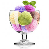 KROSNO 2654 Zmrzlinové poháre Tasting Collection 350ml, 4ks
