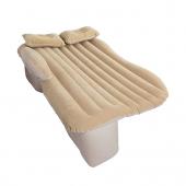 TFY MC7579 Nafukovací matrac s vankúšmi na zadné sedadlá v aute, matrac na spanie, 130x180cm