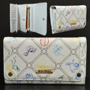 Giulia Pieralli FashionM286Bianco Dámska peňaženka biela