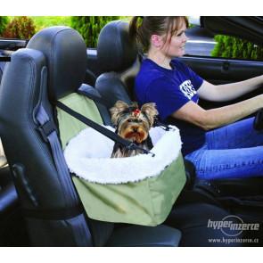TFY 0248 Praktická prepravka pre psíkov do auta 32 x 26 x 18 cm