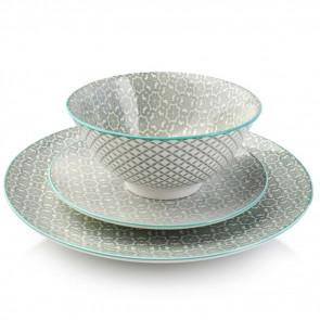 Sada porcelánových tanierov, sada tanierov, sada tanierov lacno, sada porcelanovych tanierov