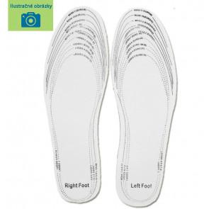 SISI NO.80509-4-Beige Antibakteriálne vložky do topánok, anatomické, veľ.25-36, béžová