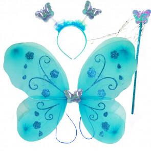 najlacnejšie karnevalové kostýmy, karnevalove masky na predaj, detský kostým motyl