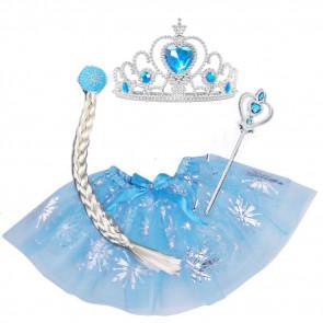 Kostým princezná Elsa, šaty, kostýmy, karnevalove kostymy,