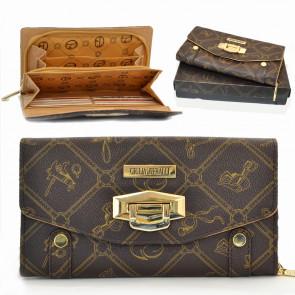 Giulia Pieralli Fashion1 Dámska peňaženka hnedá