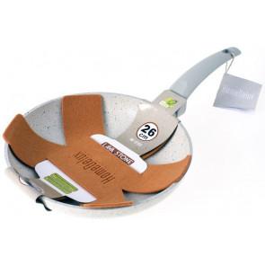 HomeDelux HD-12103 Mramorová panvica 26cm, sivá