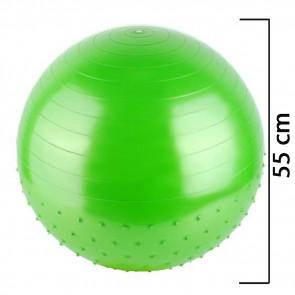 TFY 5413 Gymnastická lopta, fit lopta 75 cm, zelená
