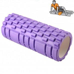 Jenifer Roller-1834-P Joga roller, Penový masážny valec 32,5x14x2 cm, fialový