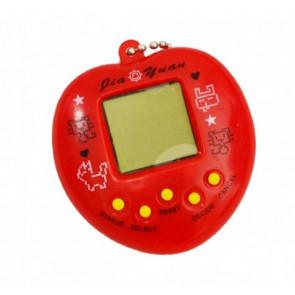 Jia 04 TAMAGOČI - Elektronické zvieratko, červené
