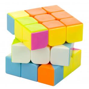 Yong Cube KX7602 Rubiková kocka, logický hlavolam pre deti, neónové farby