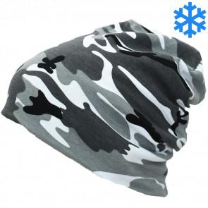 Mctran  Štýlová zateplená čiapka UNI, zimné čiapky, zimne ciapky, zimné čiapky uni