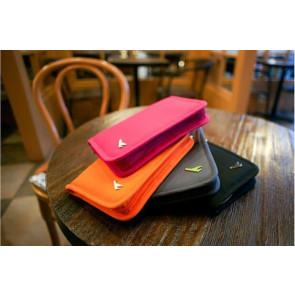 Jenifer No.9070-O Puzdro na doklady oranžové, 18,4 x 12,9 x 2 cm