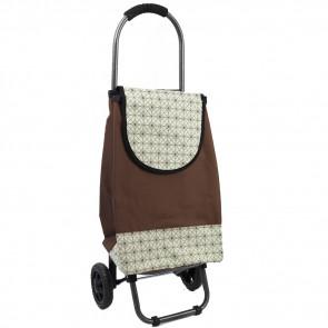 Ormi, New33 Nákupná taška na kolieskach 30L, nosnosť 20kg, hnedá