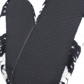 LOOKeN SM-HL-677-BR2 Detské papuče z ovčej vlny, 29-32 jednofarebné, hnedá