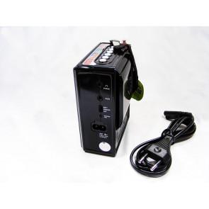 X-BASS No.501 Prenosné rádio so vstavanou batériou, USB, SD a AUX prehrávaním