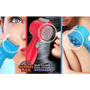 SuperLife B09-2-pink Ručný masážny prístroj ružový
