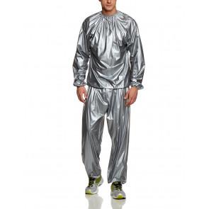 Sauna ASSEENON NO.0909 Sauna oblek šedý, veľkosť 2XL