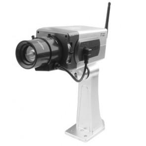 SecuTech J1170 Atrapa kamery so senzorom pohybu a otáčaním