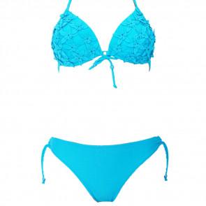Sun & Ocean, BL SY3510, Dvojdielne push-up plavky s kvetmi S-XL