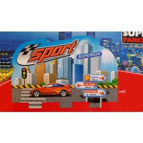 TFY SP5 Super parkovacia garáž  pre malých šoférov