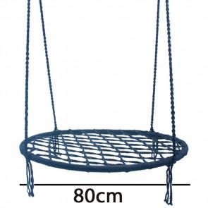 TFY Kx9708  Hojdacie hniezdo modrá, priemer 80cm