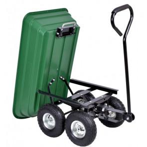 TFY No.4609 Záhradný vozík výklápací 250 kg, zelený