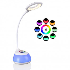 TRIUNFO BONUS C11 LED dotyková lampa s husím krkom