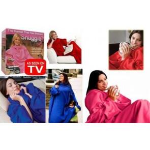 Snuggie TV-heat2 Deka čierna 182 x 141 cm