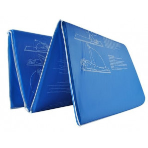 YORK 6069-blue Fitness podložka na cvičenie, 170x60x1,5cm